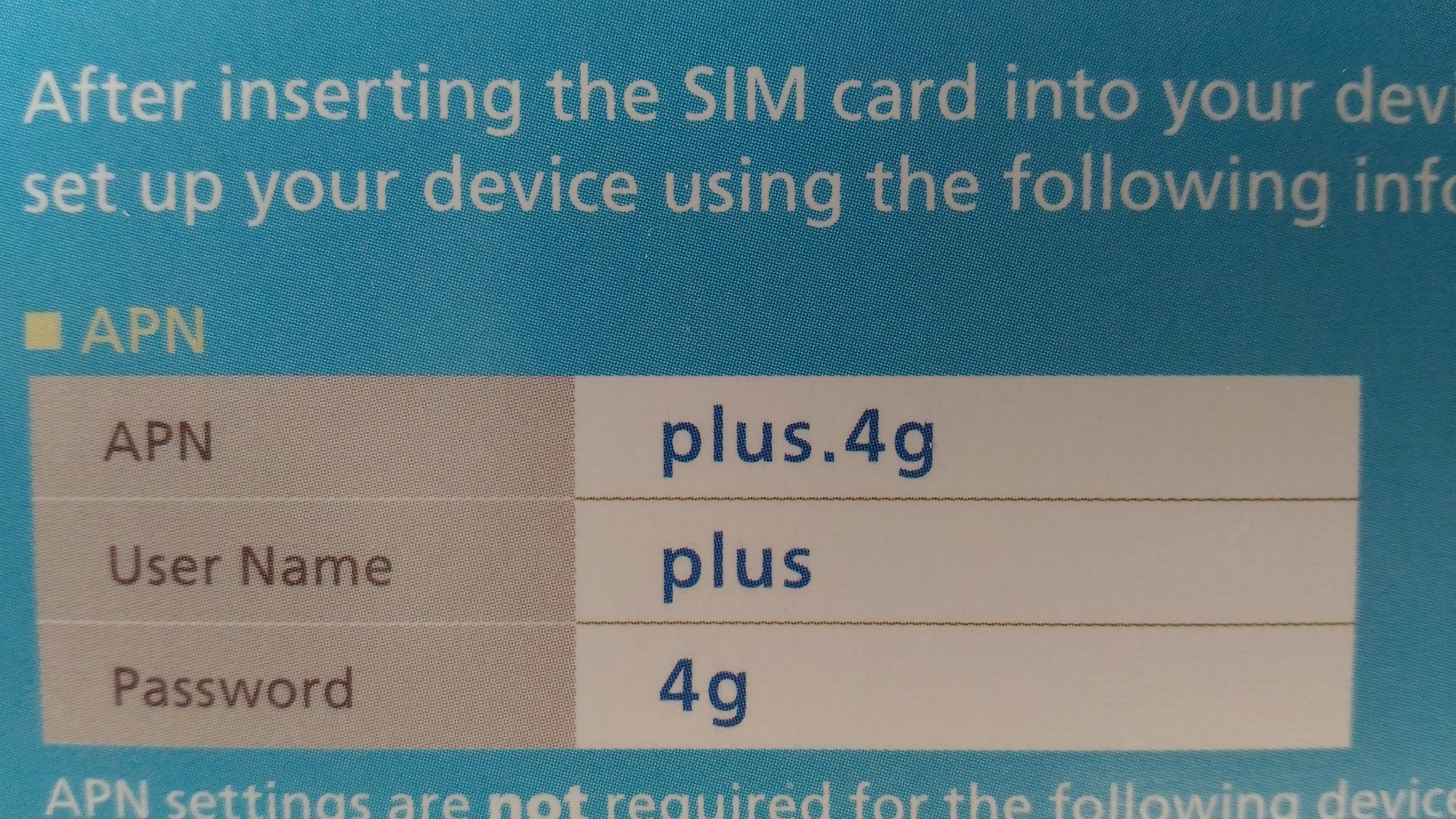 SOLVED] MNC number of Sim setting can not be set correctly - Device